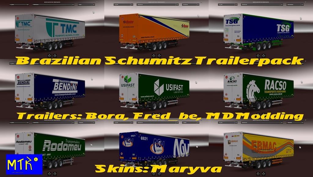 Brazilian Schmitz Trailerpack