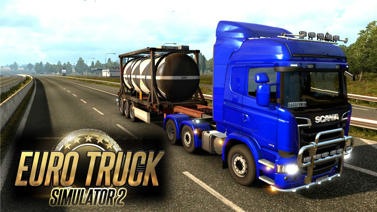 Euro Truck Simulator 2 Multiplayer - Grimbsy to London