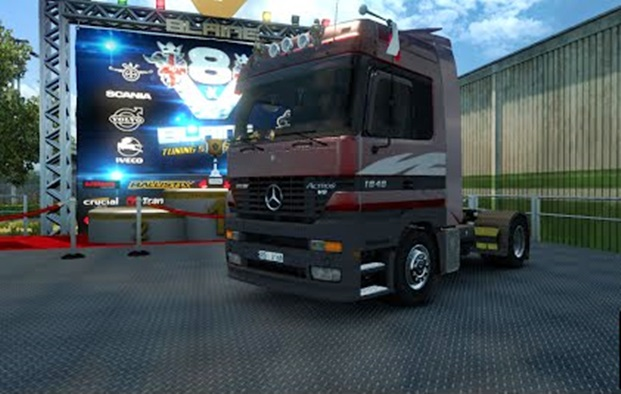 Mercedes-Benz Actros MPI by Solaris36
