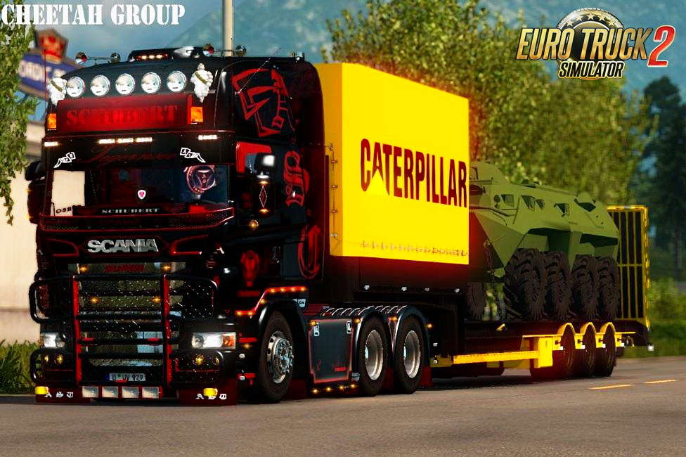 Caterpaillar Tank Trailer v1.0 By Cheetah Modders Team (1.24.x)