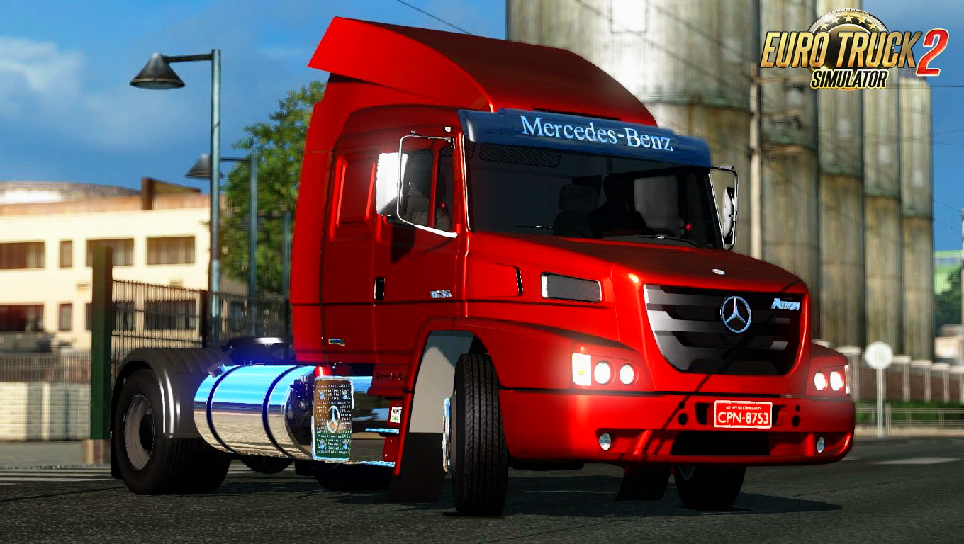 Mercedes-Benz Atron 1635 + Interior v2.0 (1.24.x)