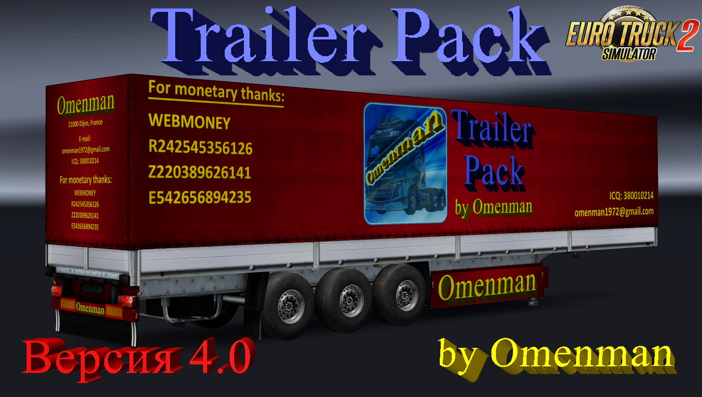 Trailer Pack v4.0 by Omenman (1.24.x)