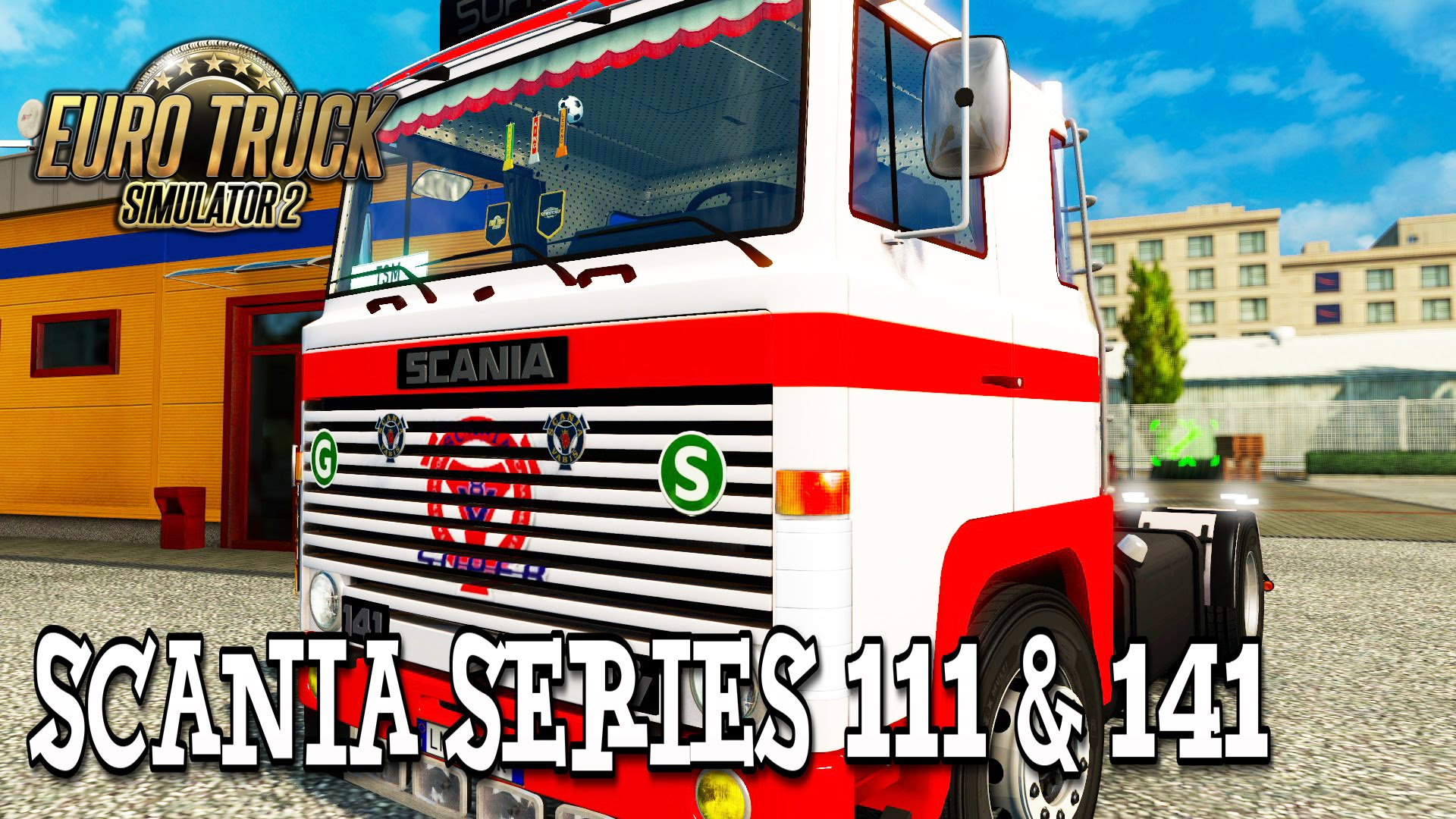 Scania 1 Series 111 & 141 + Interior v2.0 (v1.24.x)