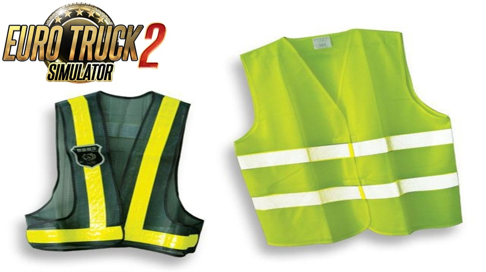 Reflective Vests for all drivers v 1.0 [ ETS2 ]