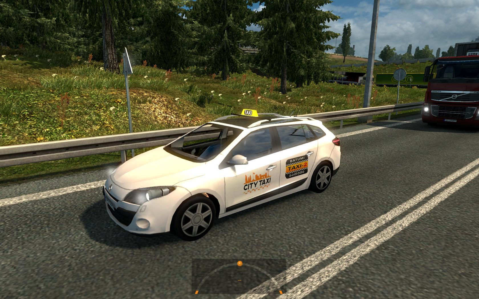 taxi traffic pack update v1 1 ets2 mods euro truck simulator 2 truck mods scs mods. Black Bedroom Furniture Sets. Home Design Ideas