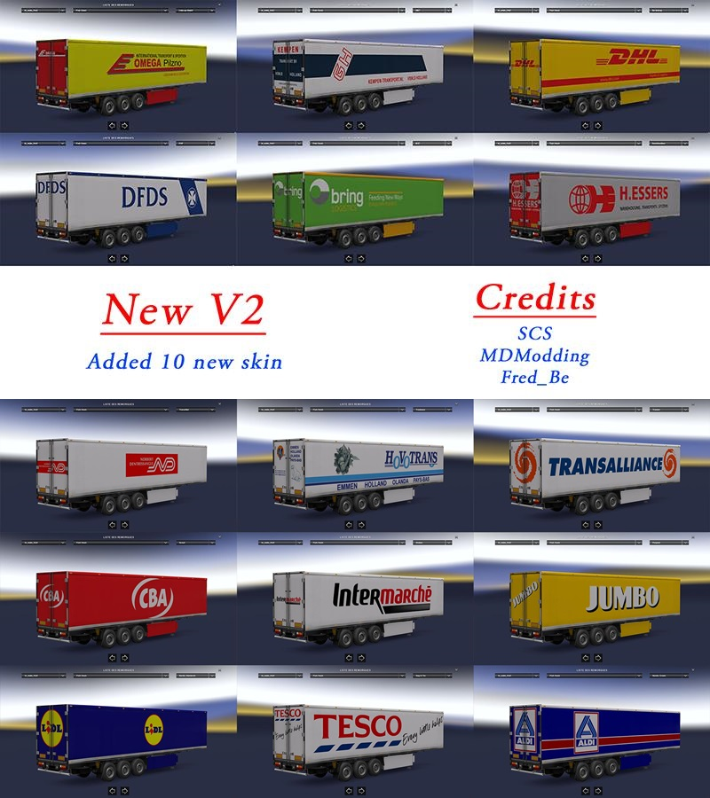 Custom Fridge Trailer Pack [1.24.x]