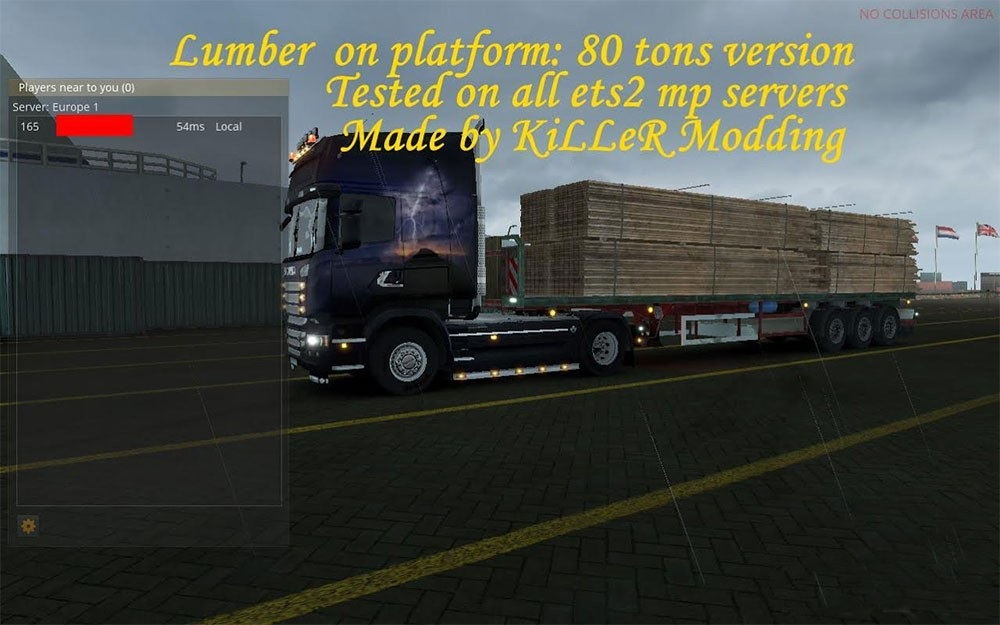 Lumber on Platform Pack for multiplayer [1.24.x]