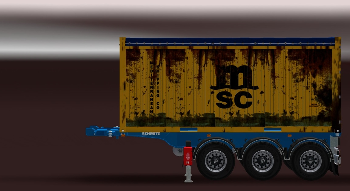 Schmitz 20ft Open Top Container (Updated) v 1.2