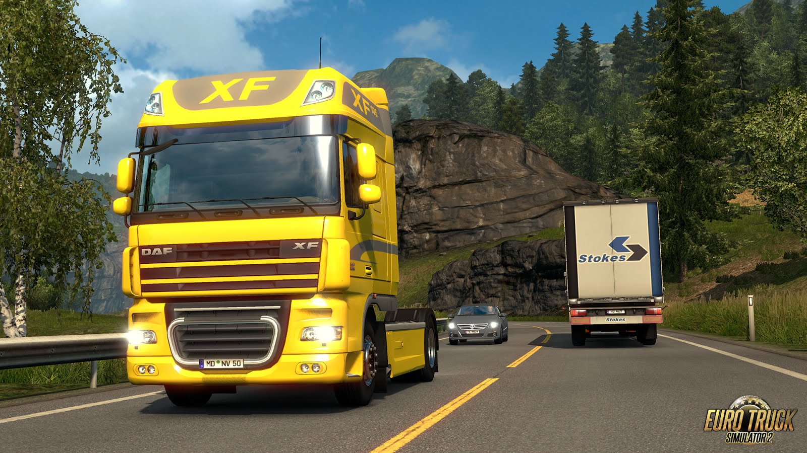 Updated DAF XF 105 is coming