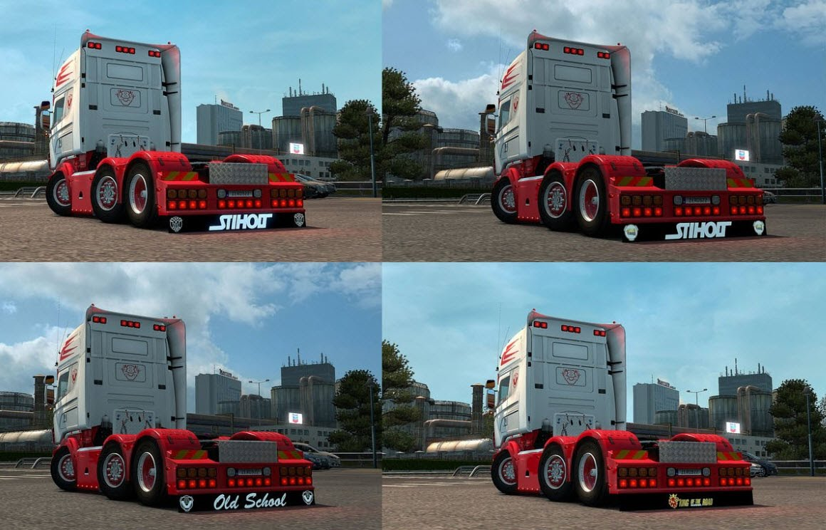 Scania R & Streamline (RJL) Rear Mudflap Pack [1.24.x]