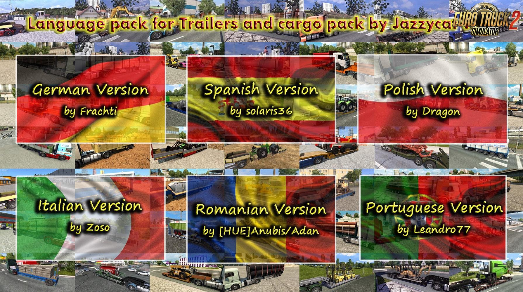 Language Pack for Trailers and Cargo Pack v4.2 by Jazzycat