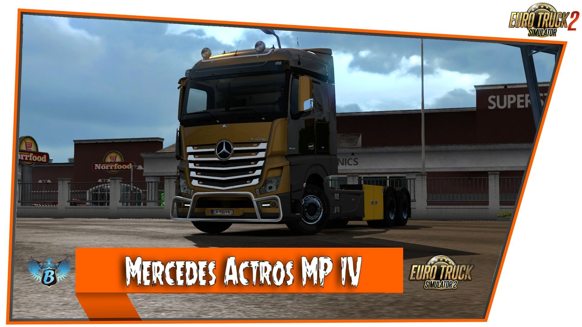 Mercedes Actros MP IV [1.24.x]