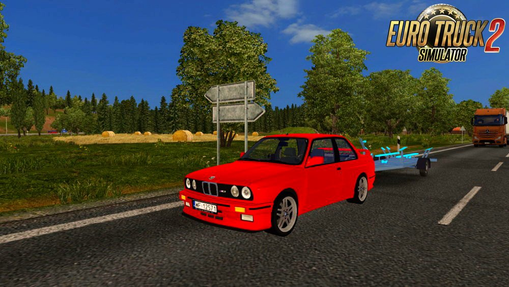BMW E30 M3 v1.0 By Diablo (Upgraded) (1.24.x)