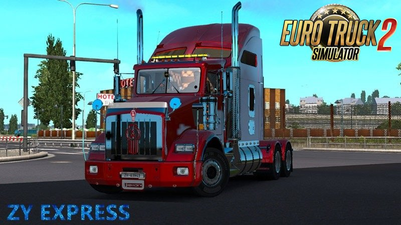 Kenworth T800 v 2.3 Final + DLC for Ets2 [1.24.x]