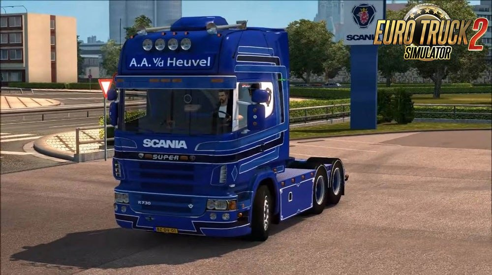 Scania R730 truck for Ets2