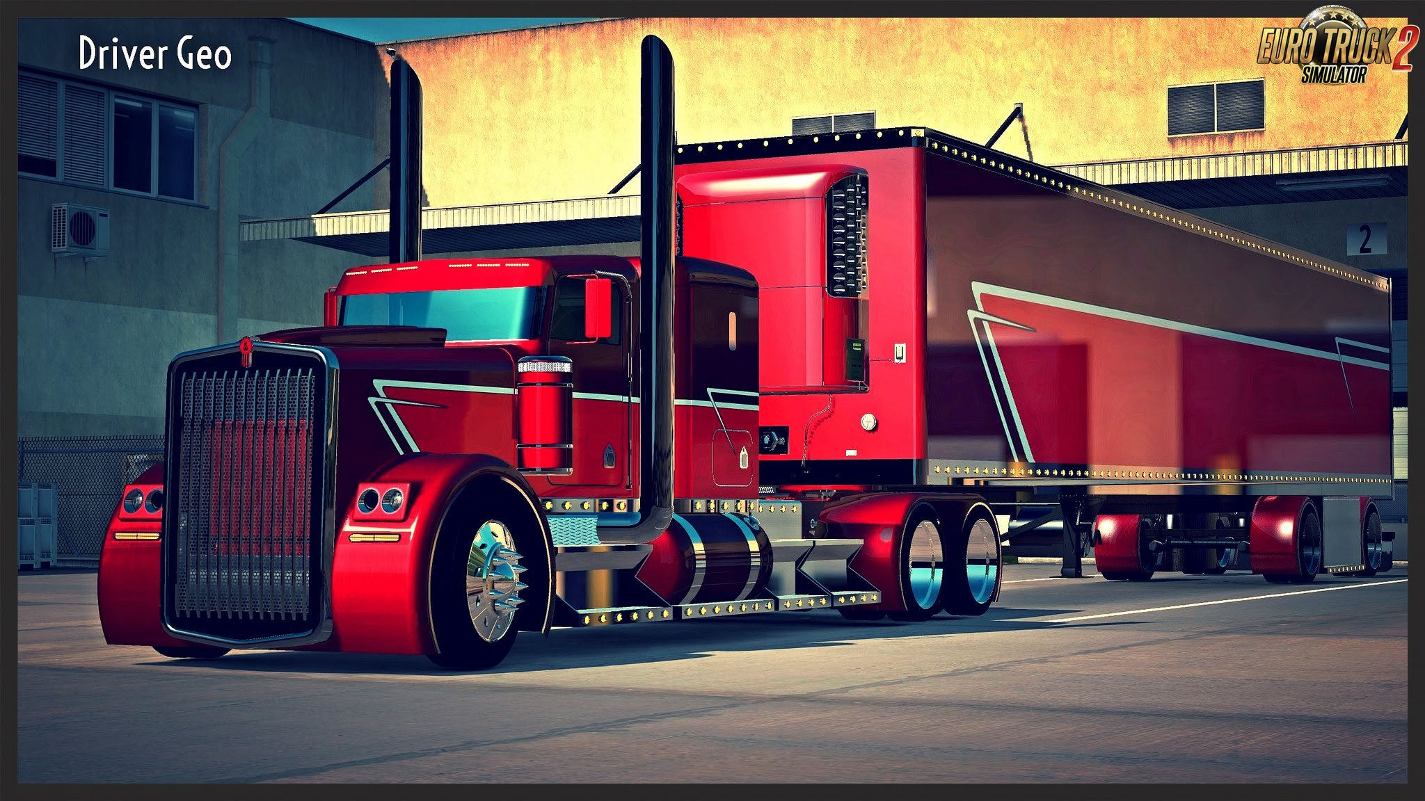 Kenworth The Phantom  + Phantom Trailer v1.0