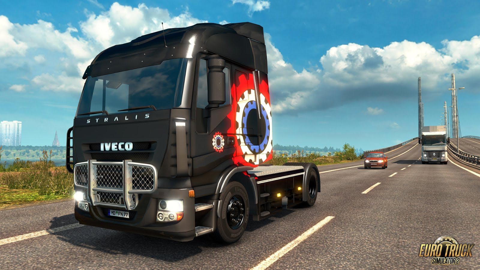Euro Truck Simulator 2 - Company Paintjobs + Update 1.25
