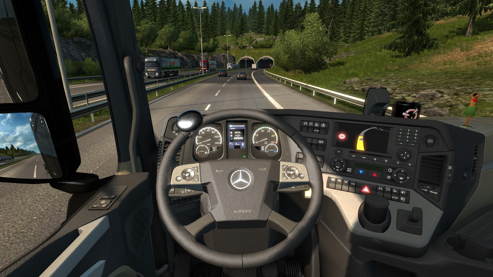 Steering Knobs for ETS 2 and ATS