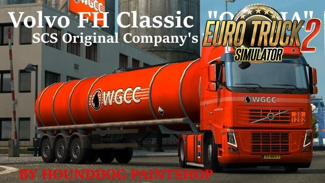 Trucks with Skins of Original Companies in Ets2