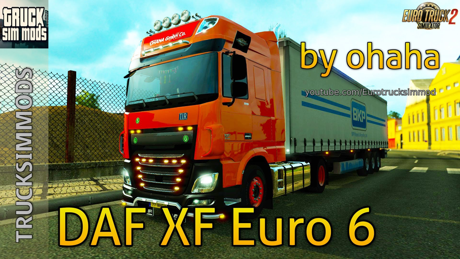 DAF XF Euro6 by ohaha v1.67 for v1.25