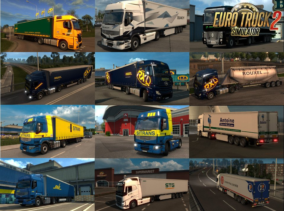 Eskolaite Skin Pack v3.0 for Ets2