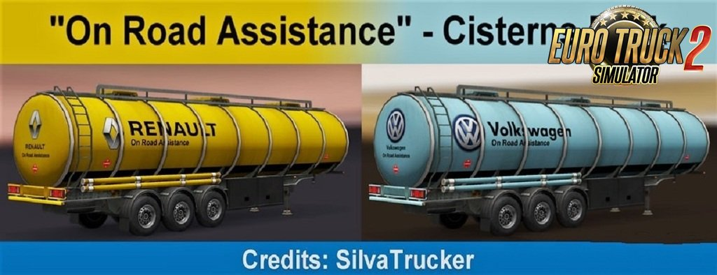 On Road Assistance Cisterns Pack by SilvaTrucker