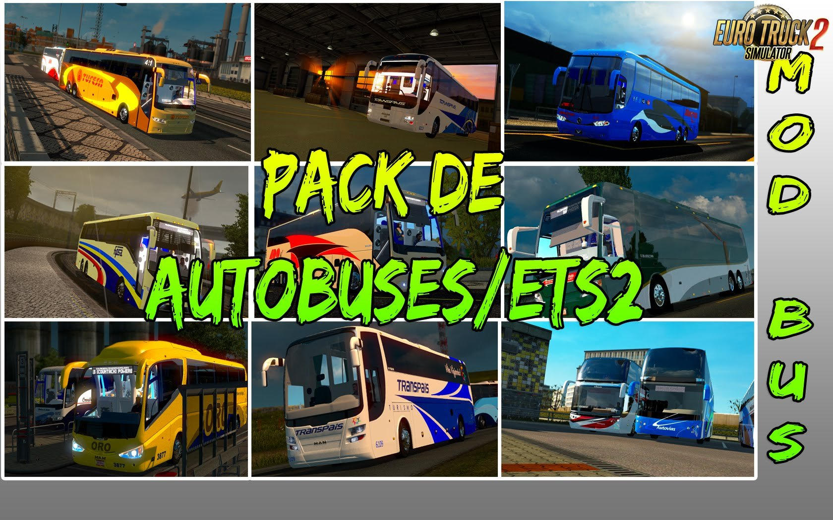 Pack buses Mexicanos ETS2 and ATS