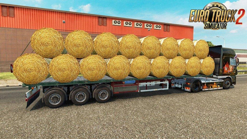 Trailer Bales hay