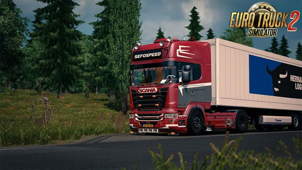Scania R620 V8 Sefospeed v1.0 (1.24.x)