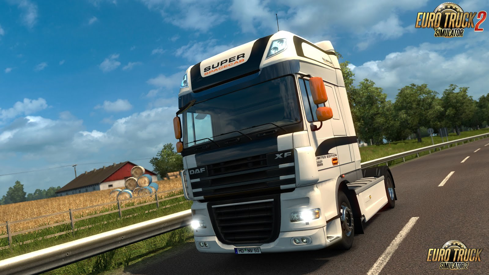 Official update 1.25 for ETS 2 was released via Steam