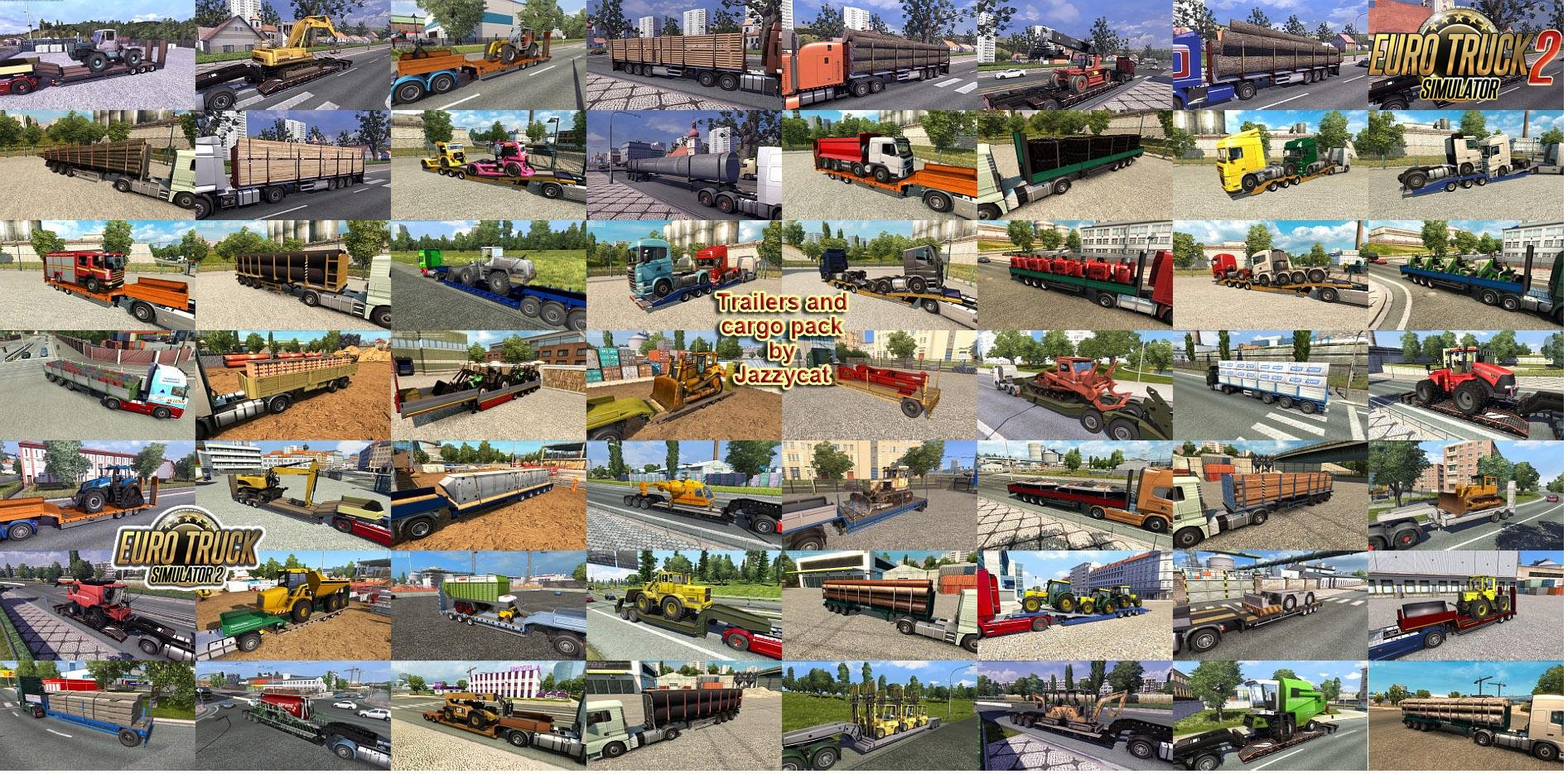 Trailers and cargo pack v4.3 by Jazzycat (1.25.x)