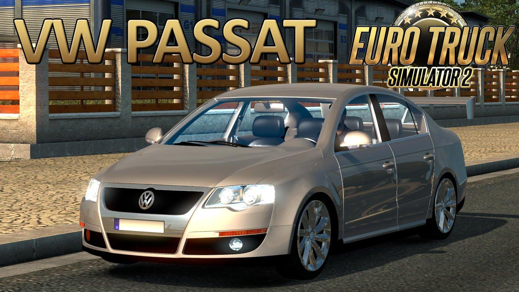 Volkswagen Passat B6 + Interior v1 2 (1 25 x) » ETS2 mods