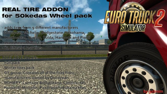 Real Tires Mod version 5.0