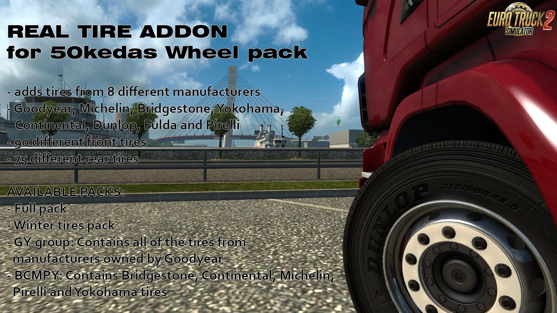 Real Tires Mod v5.1 (1.25.x)