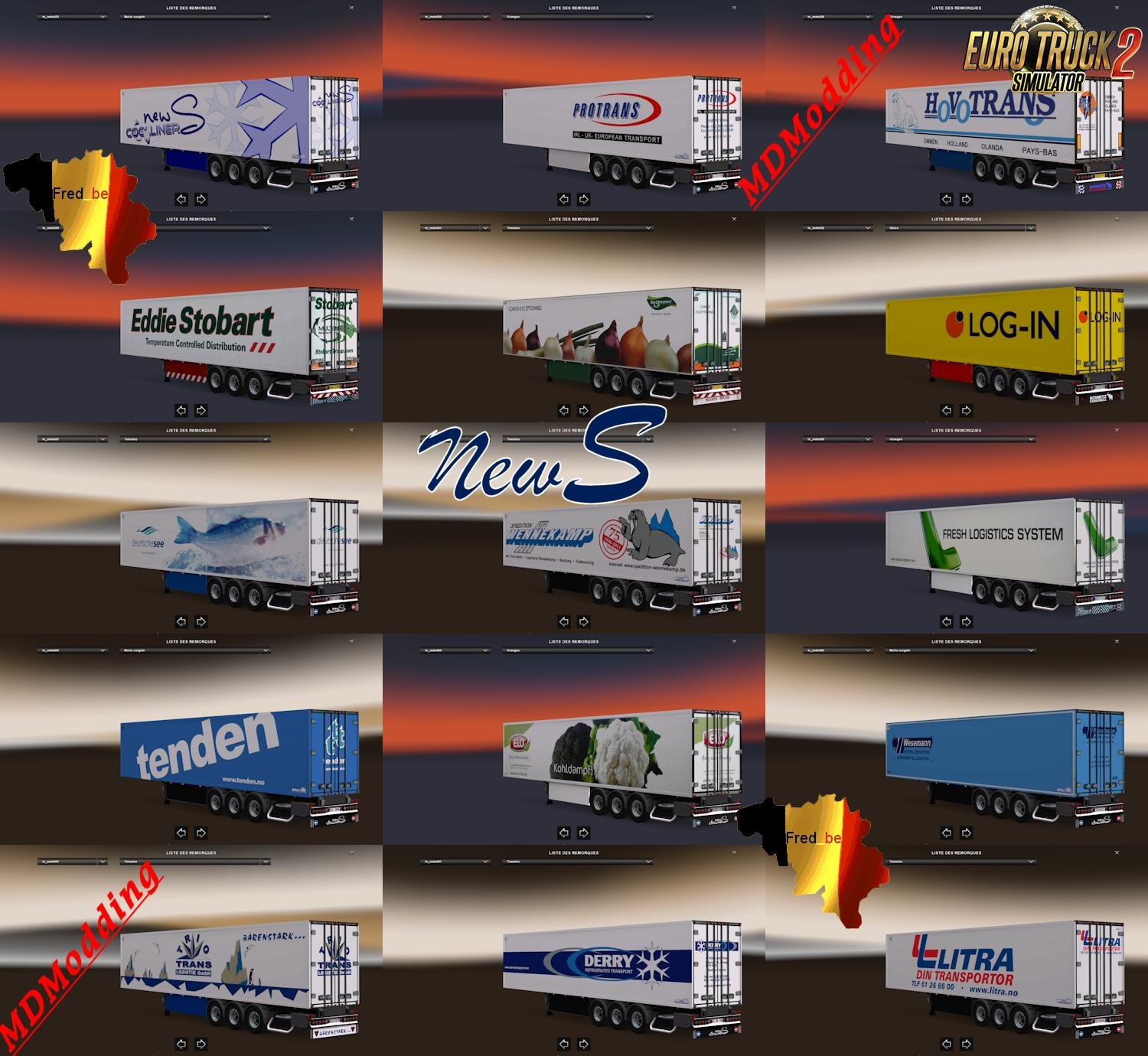 Trailer Pack Coolliner by NewS v1.25 [1.25.x]