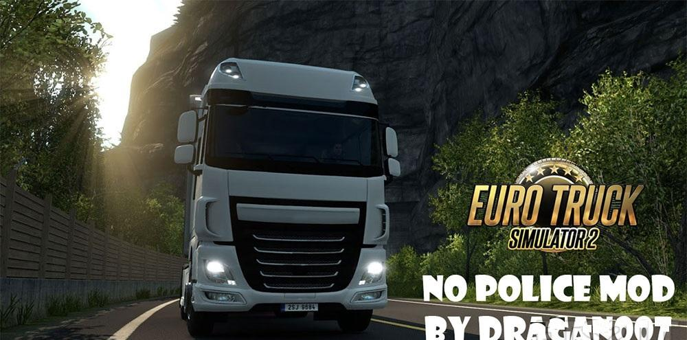 No Police Mod By Dragan007 for Ets2