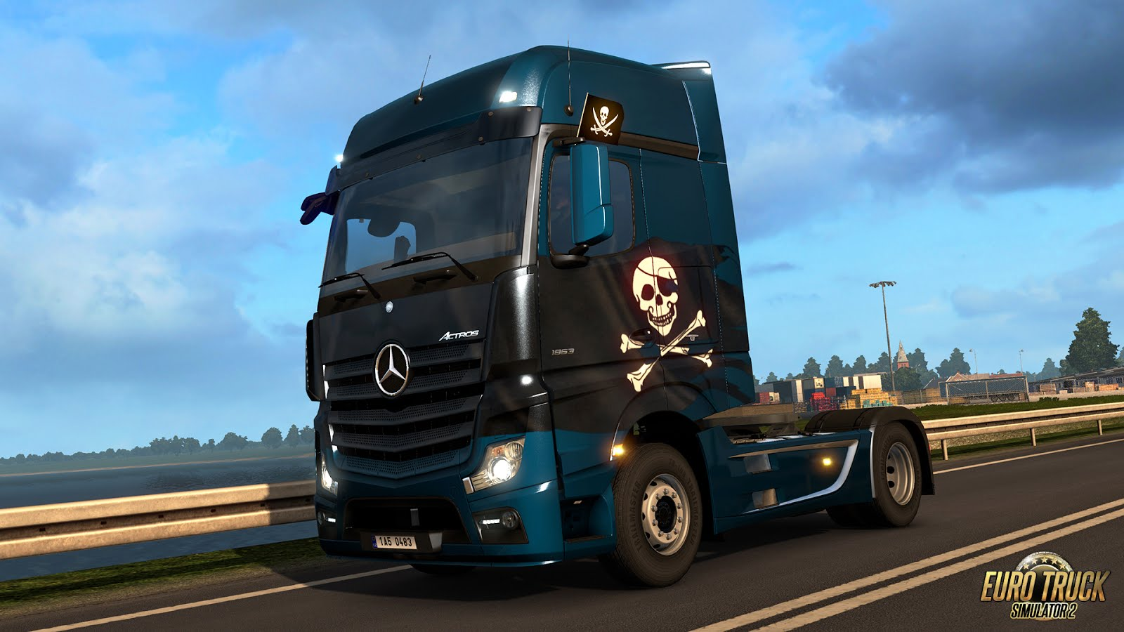 Pirates Paint Jobs Pack for ETS 2