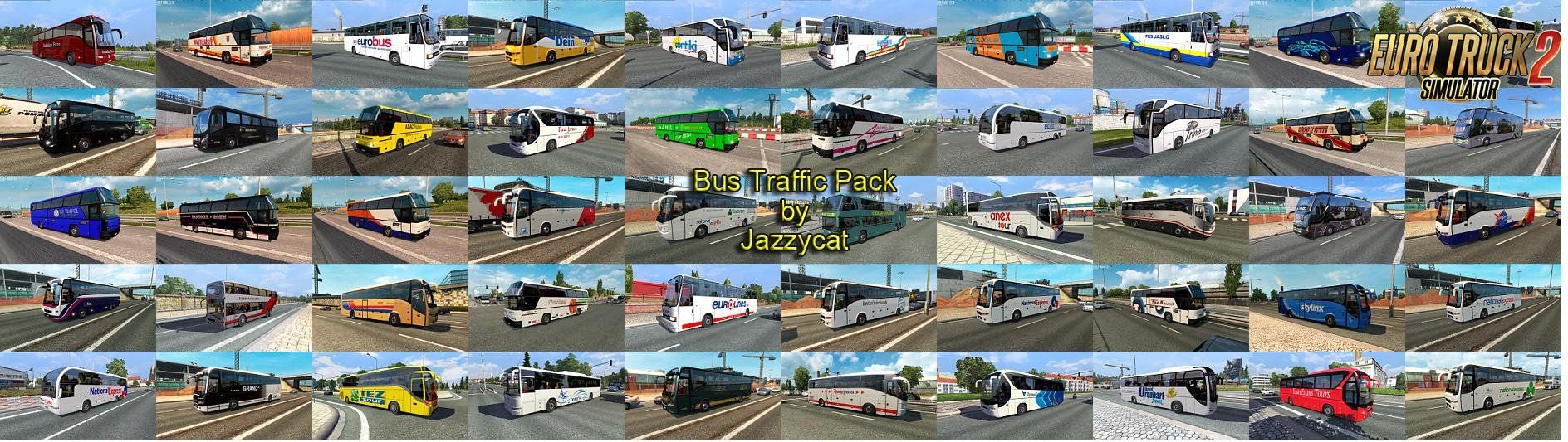 Bus Traffic Pack v1.6 by Jazzycat (1.26.x)