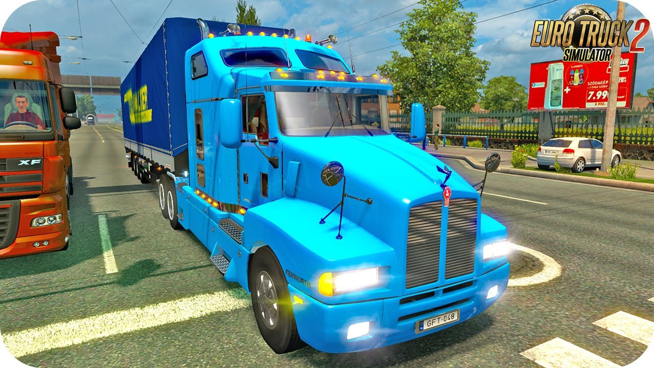 Kenworth T600 + Interior v1.0 (1.25.x)