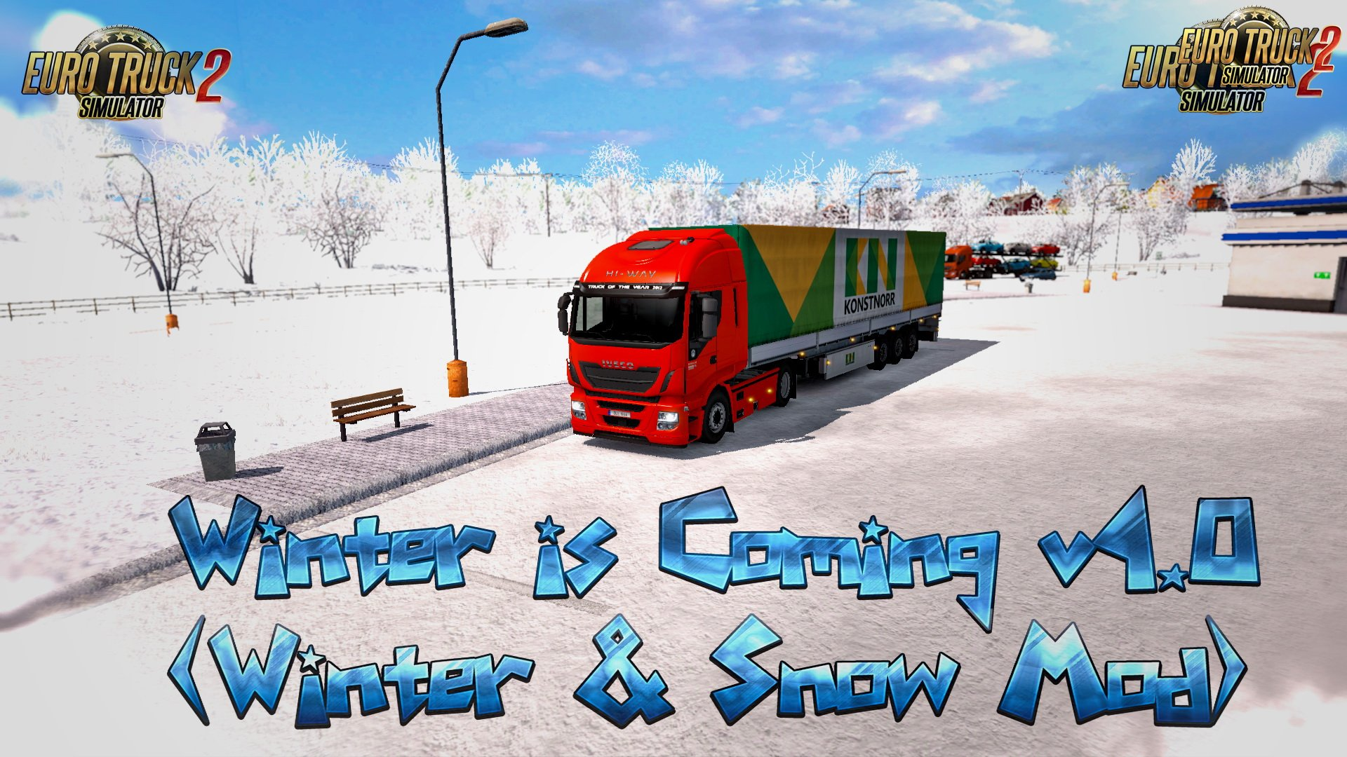 Winter is Coming v4.0 (Winter & Snow Mod) (1.25.x)