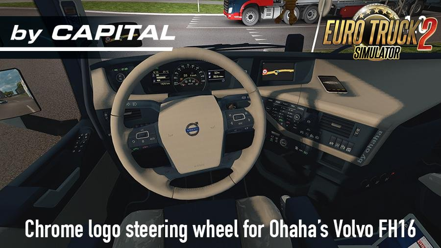 Steering Wheel for Ohaha FH16 2013 v1.0 – ByCapital