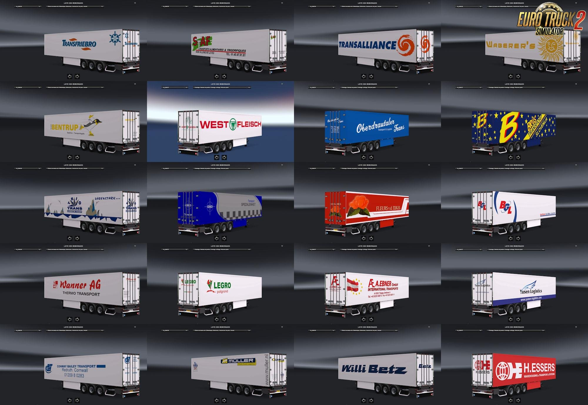 Trailer Pack Coolliner #1 v1.25 [1.25.x]