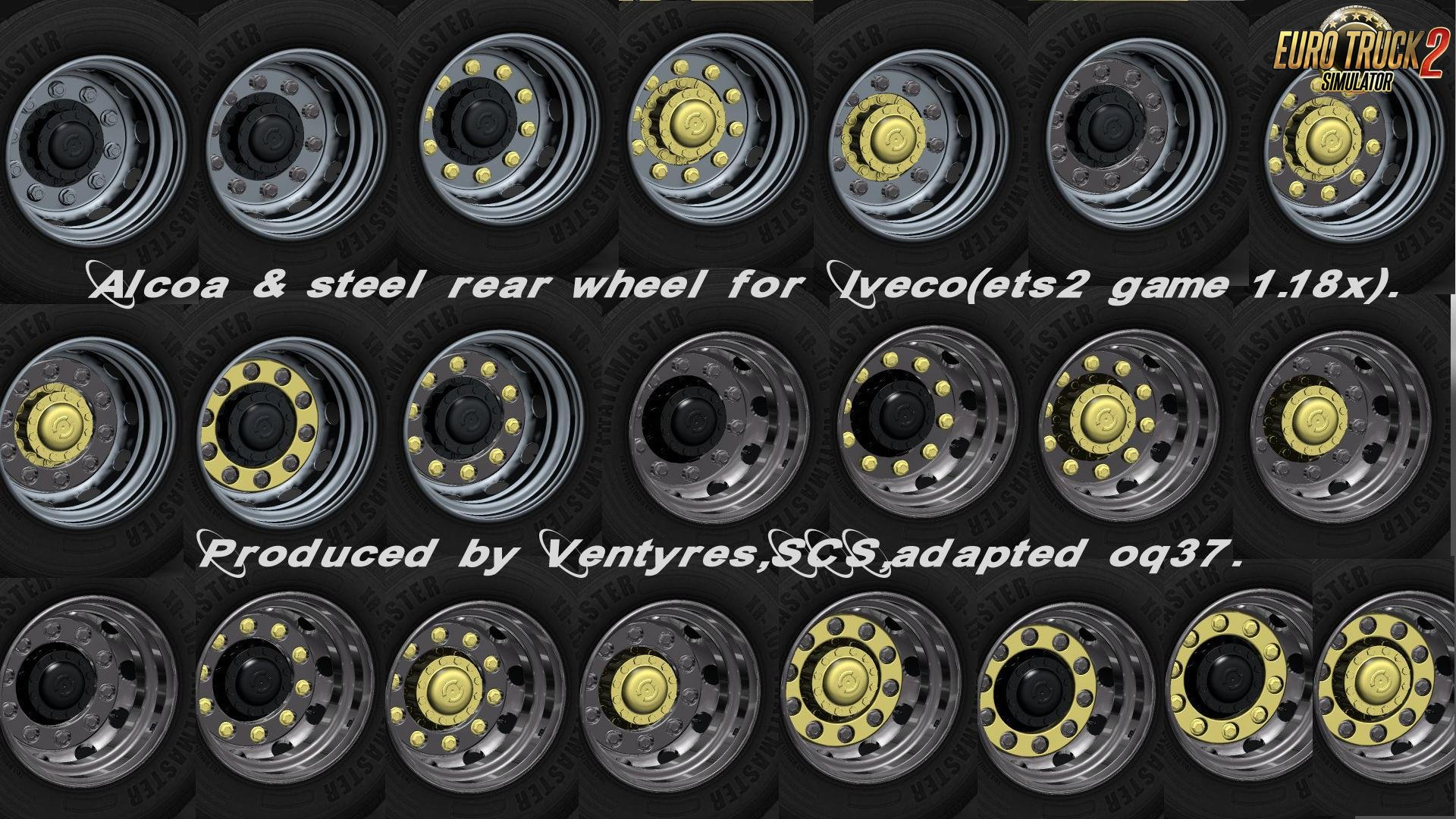 Iveco Wheels Pack for Ets2