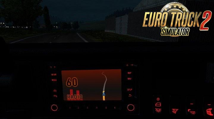 Truck Radio Tuner and GPS v2.0 for Ets2