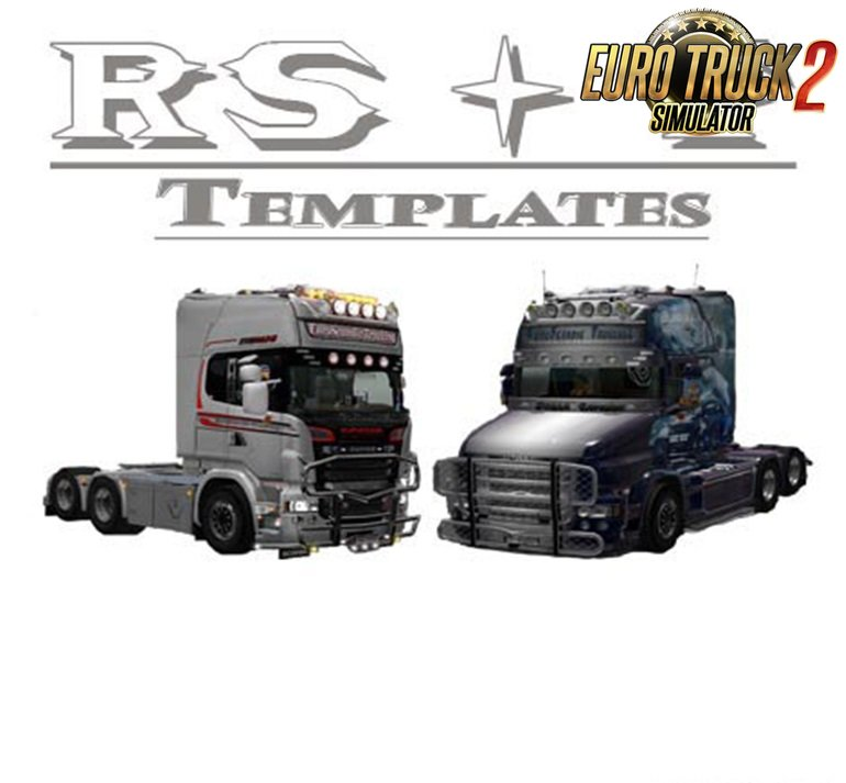 RJL 6 Serie RS & T Templates for Ets2