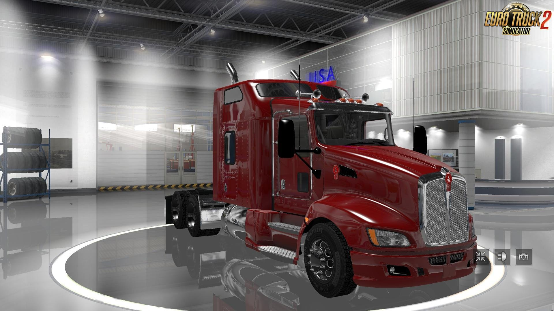Pack American trucks for Mario Map v11.8-v11.9