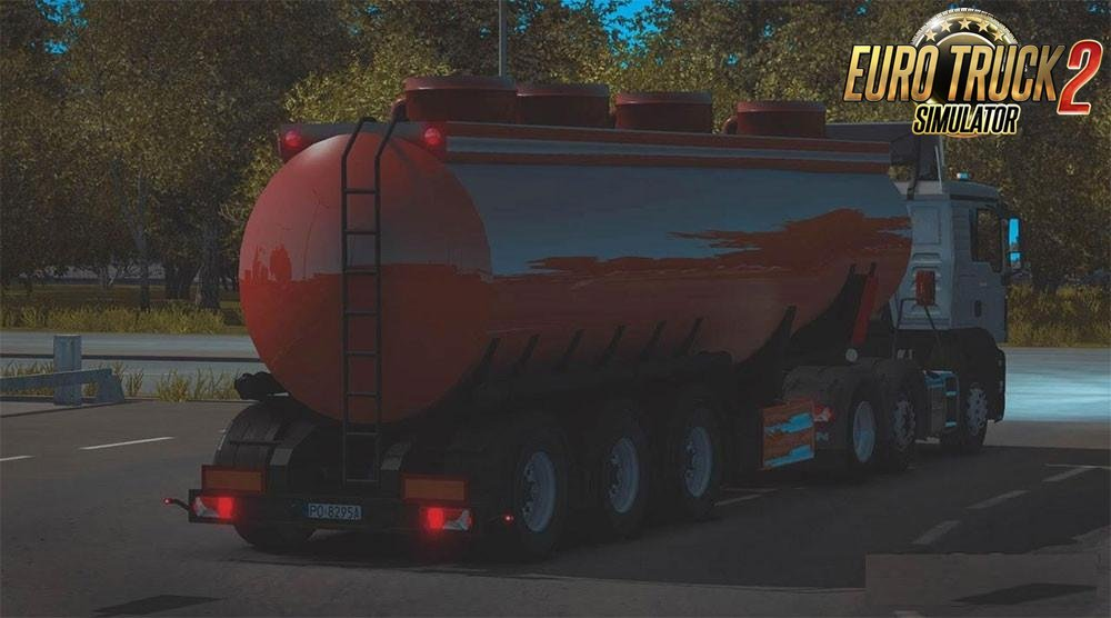 Tanker Trailer for Ets2