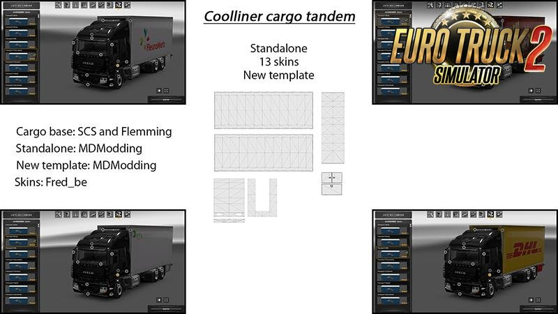Cargo Tandem Coolliner v1 for Ets2