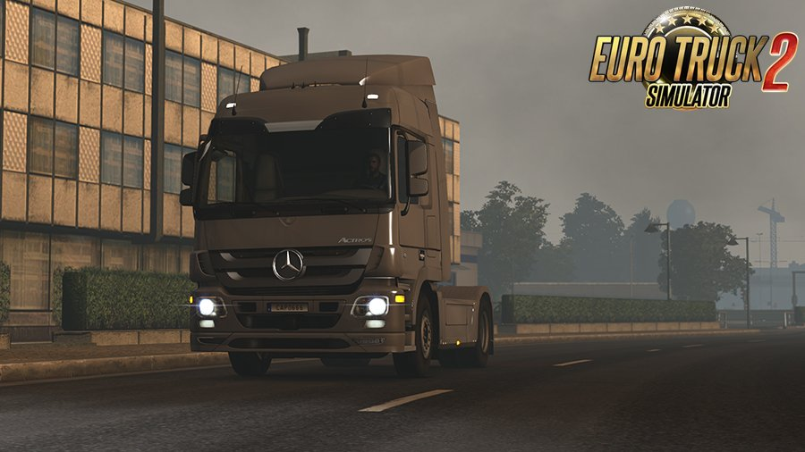 Mercedes Actros MP3 Stock Sound v4 [1.30]