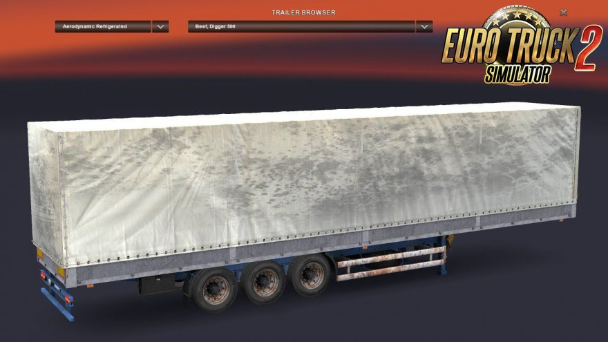 Dirty Old Trailers Pack for Ets2
